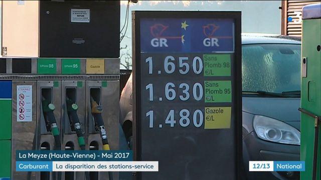 Carburant : la disparition des stations-service