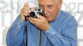 Le photographe français Raymond Depardon à Venise en 2016 (LEEMAGE VIA AFP)