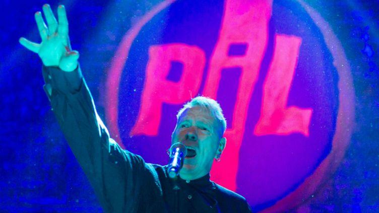(John Lydon et son groupe PiL en concert au Shepherd's Bush Empire, à Londres, le 2 octobre dernier © Richard Isaac/REX Shutt/SIPA)