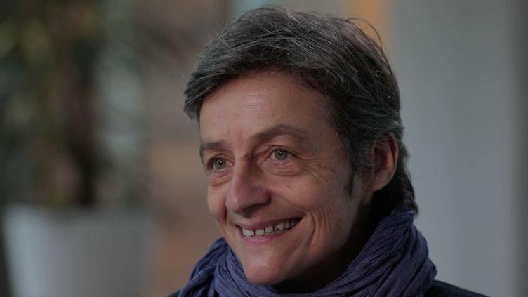 Chrsitine Aubère (Capture d'écran Franceinfo)