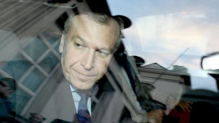 Yves Leterme, Premier ministre belge, refuse de supporter seul le poids du sauvetage de Dexia. (JULIEN WARNAND / BELGA / AFP)