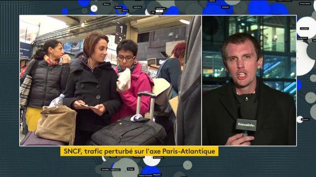 SNCF : un mouvement de grève perturbe l'axe Paris-Atlantique