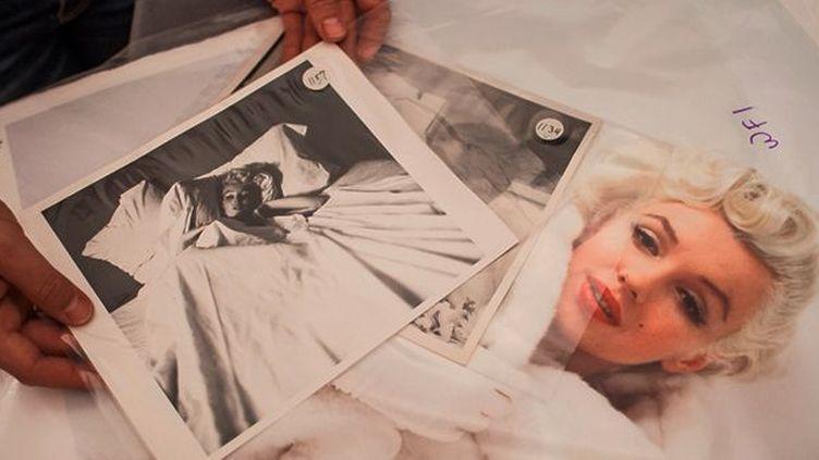 Les photographies de Milton Green seront exposées cet été en Pologne puis vendues aux enchères  (Wojtek Radwanski/ AFP)