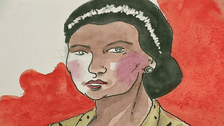 """""""Simone Veil l'immortelle"""" un roman graphique de Pascal Bresson et Hervé Duphot qui retrace la vie héroïque de la femme politique  (France 3 / Culturebox / Capture d'écran)"""