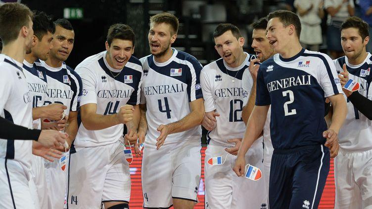 Equipe de France de volleyball.