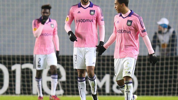 Rolando sous le maillot d'Anderlecht. (VIRGINIE LEFOUR / BELGA MAG)