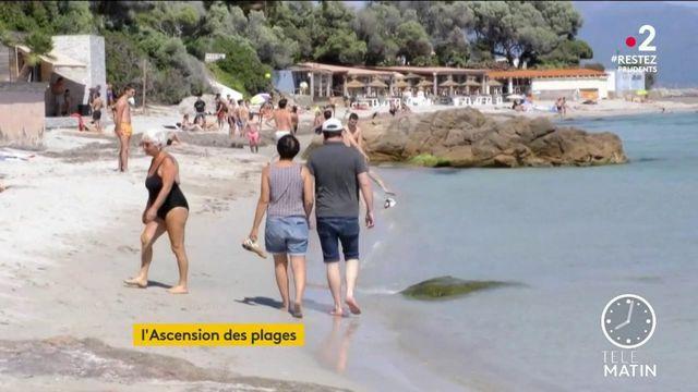 Ascension: ruée sur les plages