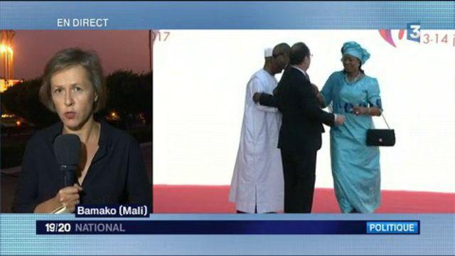 Mali : François Hollande en visite