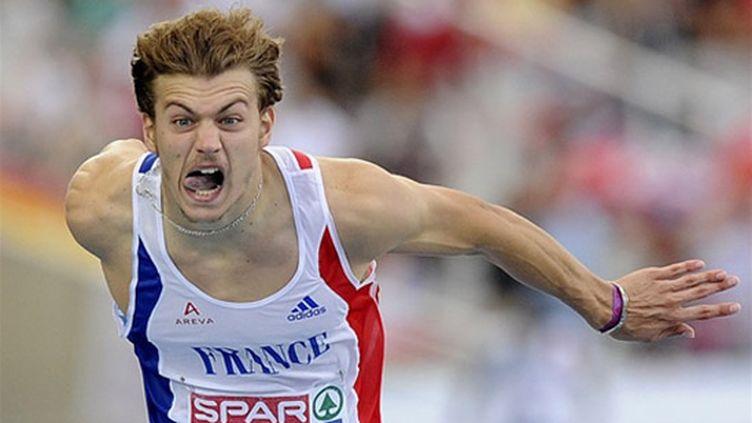 Christophe Lemaitre s'est jeté sur la ligne pour gagner l'or