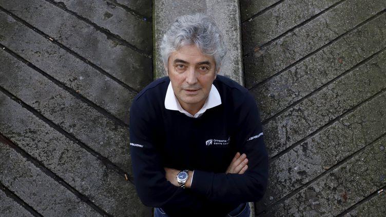 Marc Madiot, directeur sportif de l'équipe cycliste Groupama FDJ, le 20 décembre 2019. (DELPHINE GOLDSZTEJN / MAXPPP)
