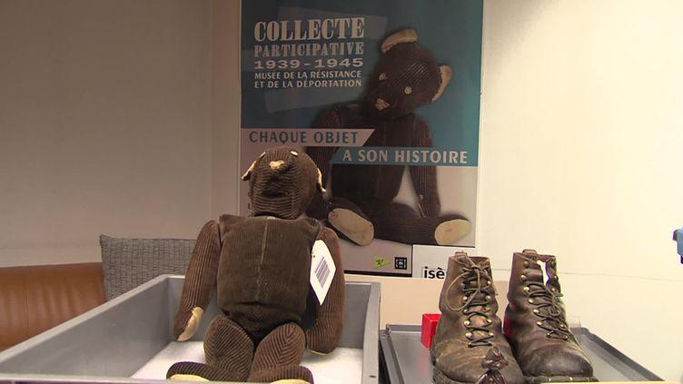Collecte participative au Musée de la Résistance et de la Déportation de l'Isère (France Télévisions / France 3 Alpes)