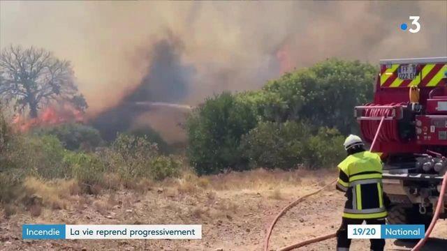 Incendie dans le Var :la désolation après le chaos