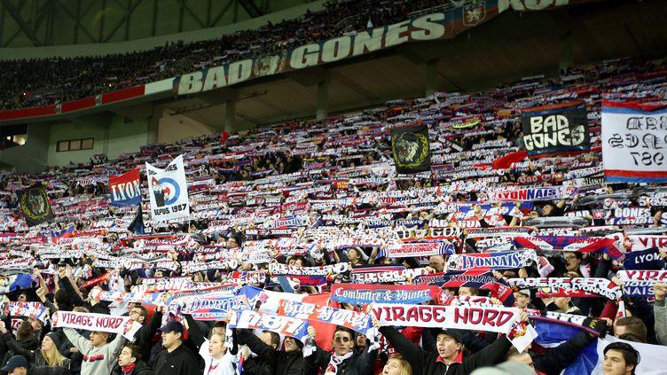 Il n'y aura pas de supporters de l'OL à Geoffroy-Guichard  (JEAN FRANCOIS SOUCHET / MAXPPP)