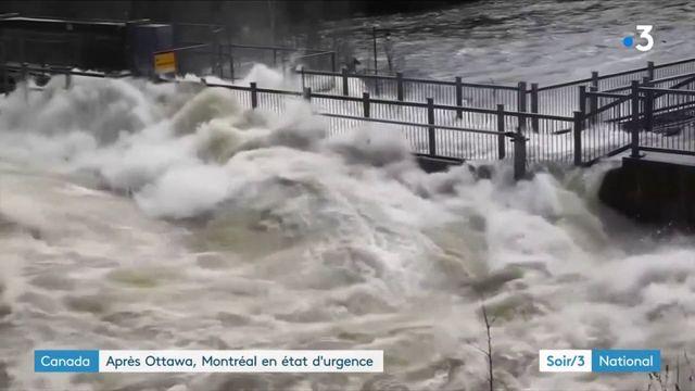Canada : après Ottawa, Montréal en état d'urgence face aux inondations