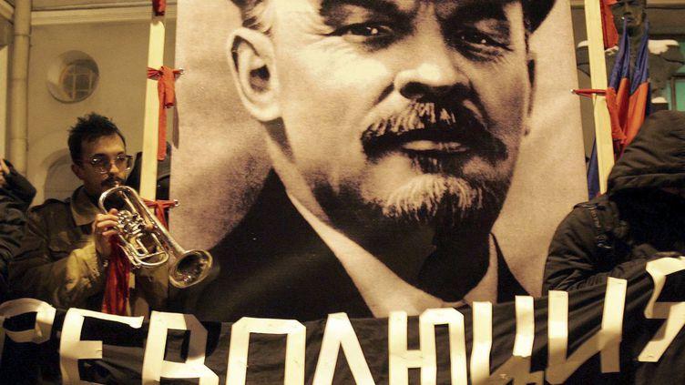 La révolution, inévitable selon Lénine, indésirable pour Poutine ? (anniversaire de la révolution d'Octobre, Saint-Pétersbourg, 2006) (Reuters / Alexander Demianchuk)