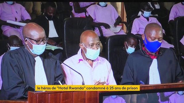 Justice : L'ancien hôtelier rwandais Paul Rusesabagina a été condamné à 25 ans de prison