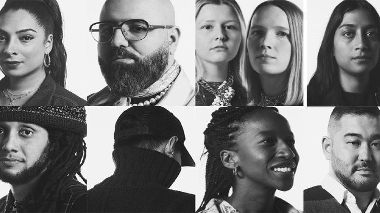 Les huit finalistes de la 7e édition du Prix LVMH 2020 (LVMH)