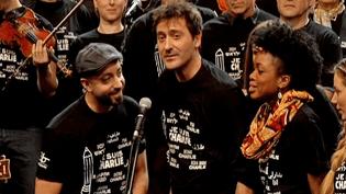 Plus d'une centaine d'artistes se sont mobilisés pour la liberté d'expression.  (France 3 Alsace)