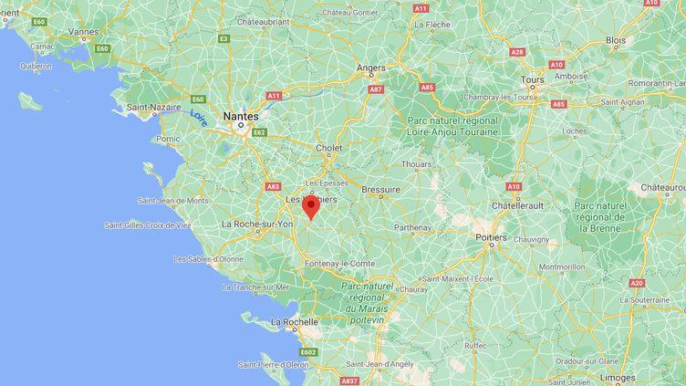 Saint-Germain-de-Prinçay, en Vendée. (GOOGLE MAPS)