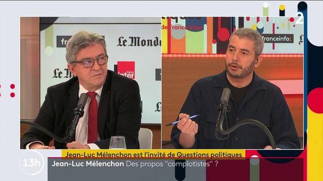 "Jean-Luc Mélenchon : ses propos jugés ""complotistes"""