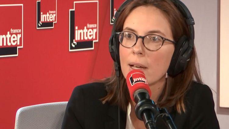 Amélie de Montchalin, le 11 octobre 2019. (FRANCE INTER / RADIO FRANCE)