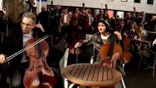 Les musiciens de l'orchestre symphonique de Cologne  (DR)