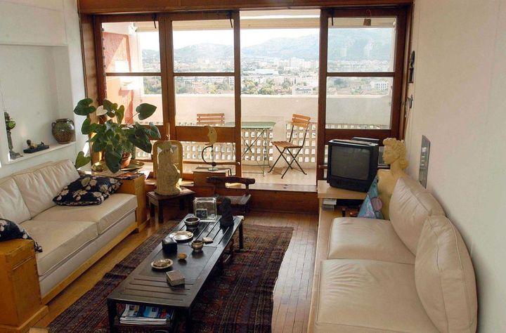 Un appartement de la Cité radieuse (2002)  (TSCHAEN/SIPA)