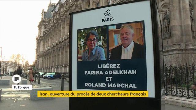 Iran : ouverture du procès de deux chercheurs français