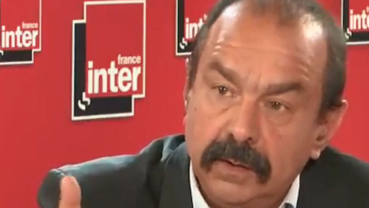 Philippe Martinez, secrétaire général de la CGT (FRANCEINTER / RADIOFRANCE)