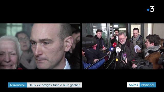 Terrorisme : deux ex-otages face à leur geôlier