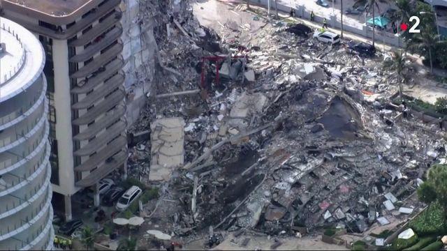 Etats-Unis : la polémique enfle autour de l'immeuble effondré en Floride