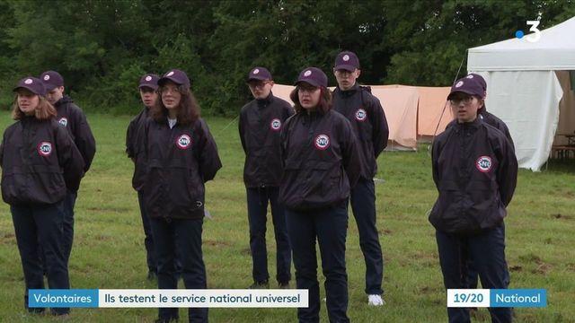 Service national universel : première journée de stage pour 115 jeunes dans les Yvelines