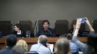 L'acteur espagnol Javier Bardem aux Nations unies à New York le 19 août 2019. (ATILGAN OZDIL / ANADOLU AGENCY)