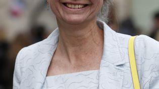 La députée LREM de l'Oise Agnès Thill, le 13 mai 2017, à Paris. (CHARLY TRIBALLEAU / AFP)