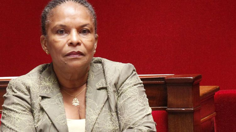 La ministre de la Justice, Christiane Taubira, à l'Assemblée nationale le 11 septembre 2012. (CHESNOT / SIPA)