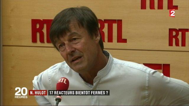 Nicolas Hulot : 17 réacteurs bientôt fermés ?