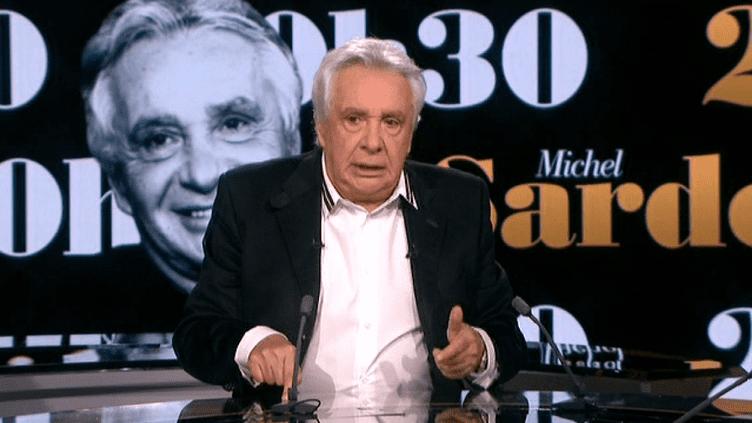 Michel Sardou sur le plateau de 20h30  (France 2 Culturebox capture d'écran)