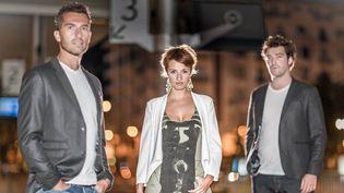 Fabien Malgrand,Emily Collomb-Malgrand et Maxime Collomb-Pattonles trois musiciens deMaFaMily Trio  (Pierre Desvignes)