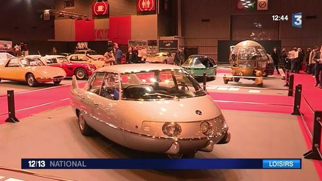 Les voitures les plus extravagantes du monde au salon rétromobile