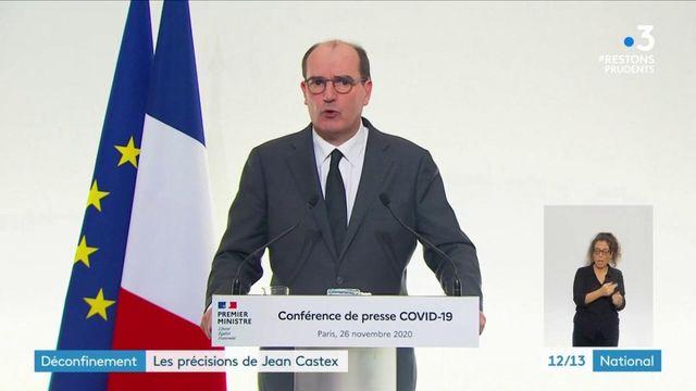 Confinement : Jean Castex apporte des précisions à l'assouplissement des restrictions