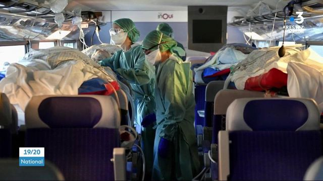 Coronavirus: d'importantes opérations de transferts de malades