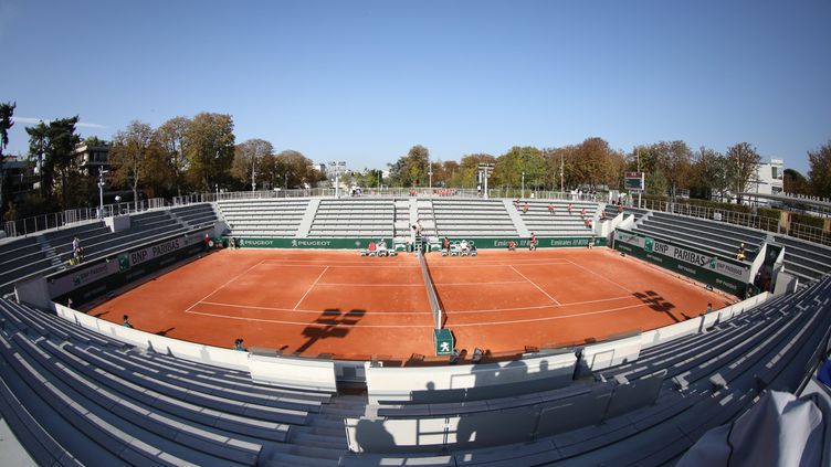 Le court 14 accueillera notamment le match entre Benjamin Bonzi et  Ivo Karlovic (ARNAUD JOURNOIS / MAXPPP)