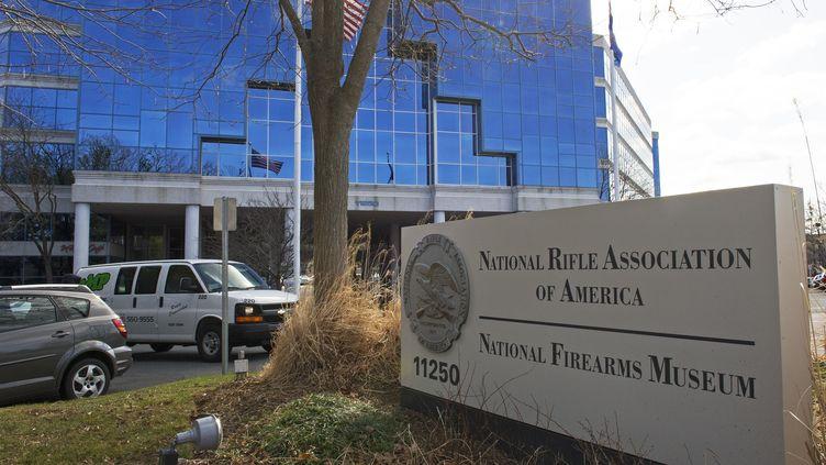 Le siège de la NRA à Fairfax, en Virginie (Etats-Unis), le 14 mars 2013. (PAUL J. RICHARDS / AFP)