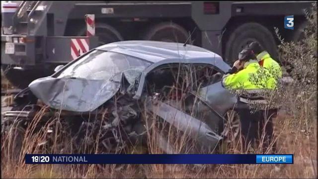 Accident d'autocar en Espagne : on ignore s'il y a des Françaises parmi les blessés