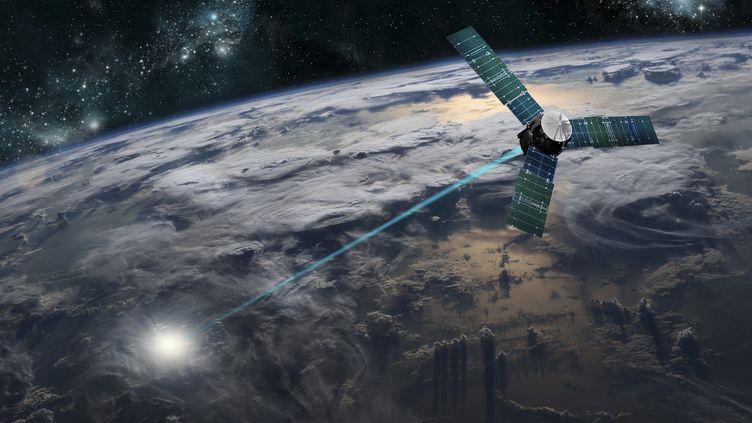 Un satellite tueur. Image d'illustration. (MARC WARD/STOCKTREK IMAGES / STOCKTREK IMAGES)