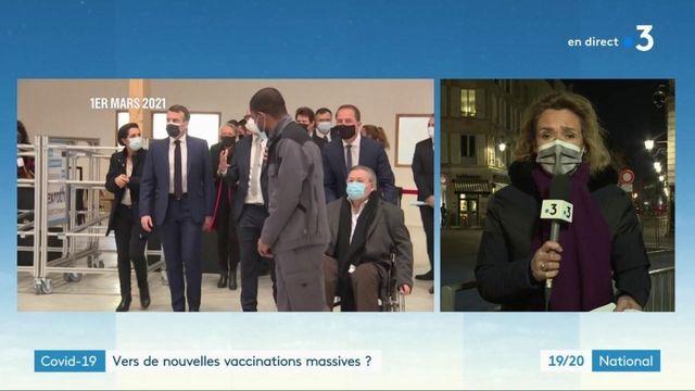 Covid-19 : l'exécutif veut intensifier la campagne de vaccination