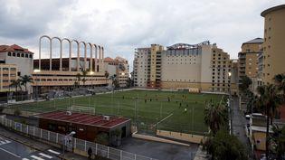 Le stade municipal de Cap-d'Ail (Alpes-Maritimes). (MAXPPP)