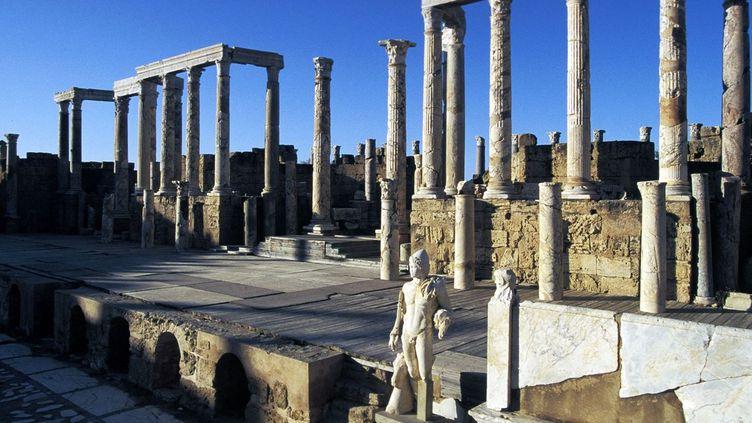 La scène du théâtre de Leptis Magna, en Libye (IMA / MEUNIER)