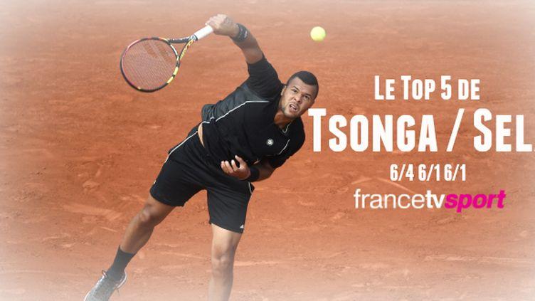 Pas de soucis pour Jo-Wilfried Tsonga qui peut se projeter dans son 3e tour.