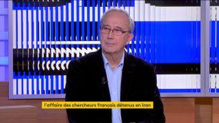 Bernard Hourcade (FRANCEINFO)
